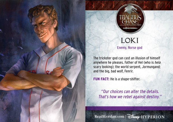 Rick Riordan's Magnus Chase and the Gods of Asgard - Loki