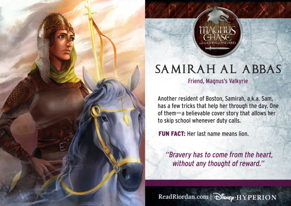 Rick Riordan's Magnus Chase and the Gods of Asgard - Samirah