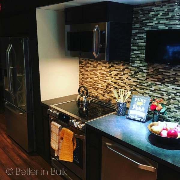 The LG Studio Kitchen Suite at Best Buy