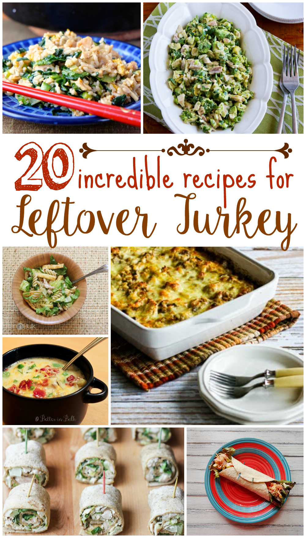 20 Incredible Recipes for Leftover Turkey