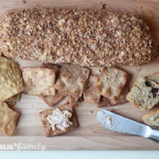 Cinnamon Pecan Crunch Cheese Log Recipe from Food Fun Family