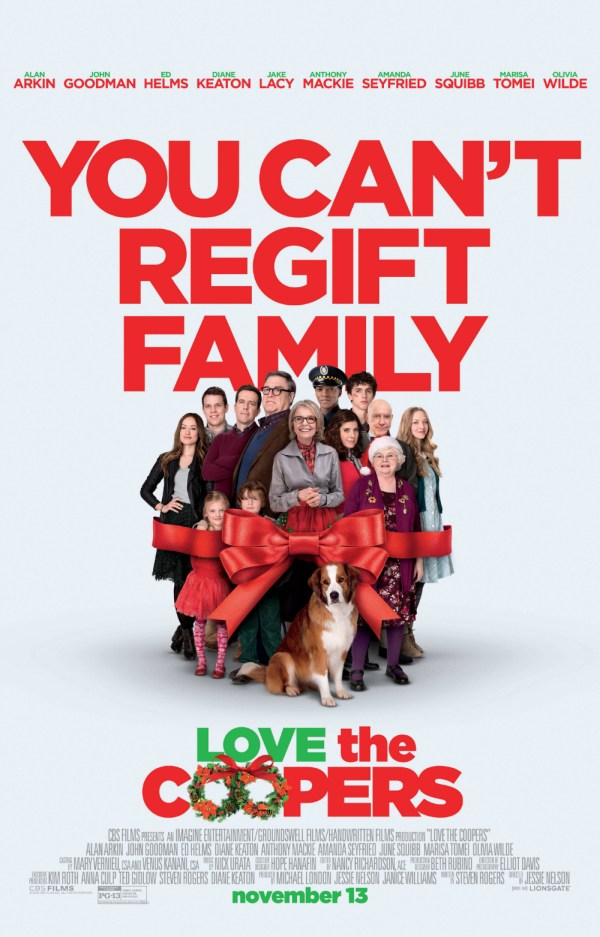 Love the Coopers Poster