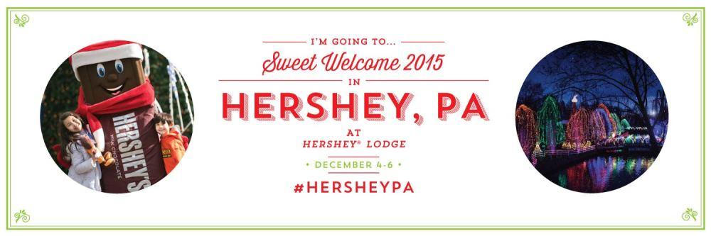 Hershey PA Sweet Welcome 2015