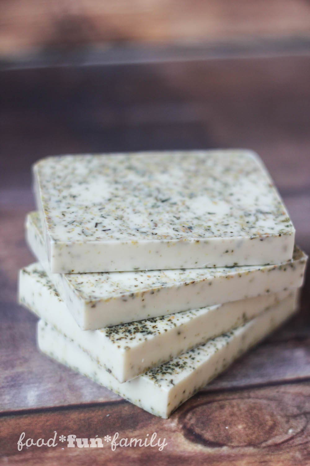 Ginger White Tea Cocoa Butter Soap from Food Fun Family