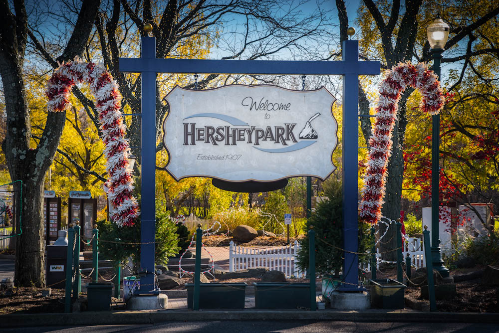 Christmas in Hershey: The Sweetest Place on Earth - Hersheypark Christmas Candylane at Food Fun Family