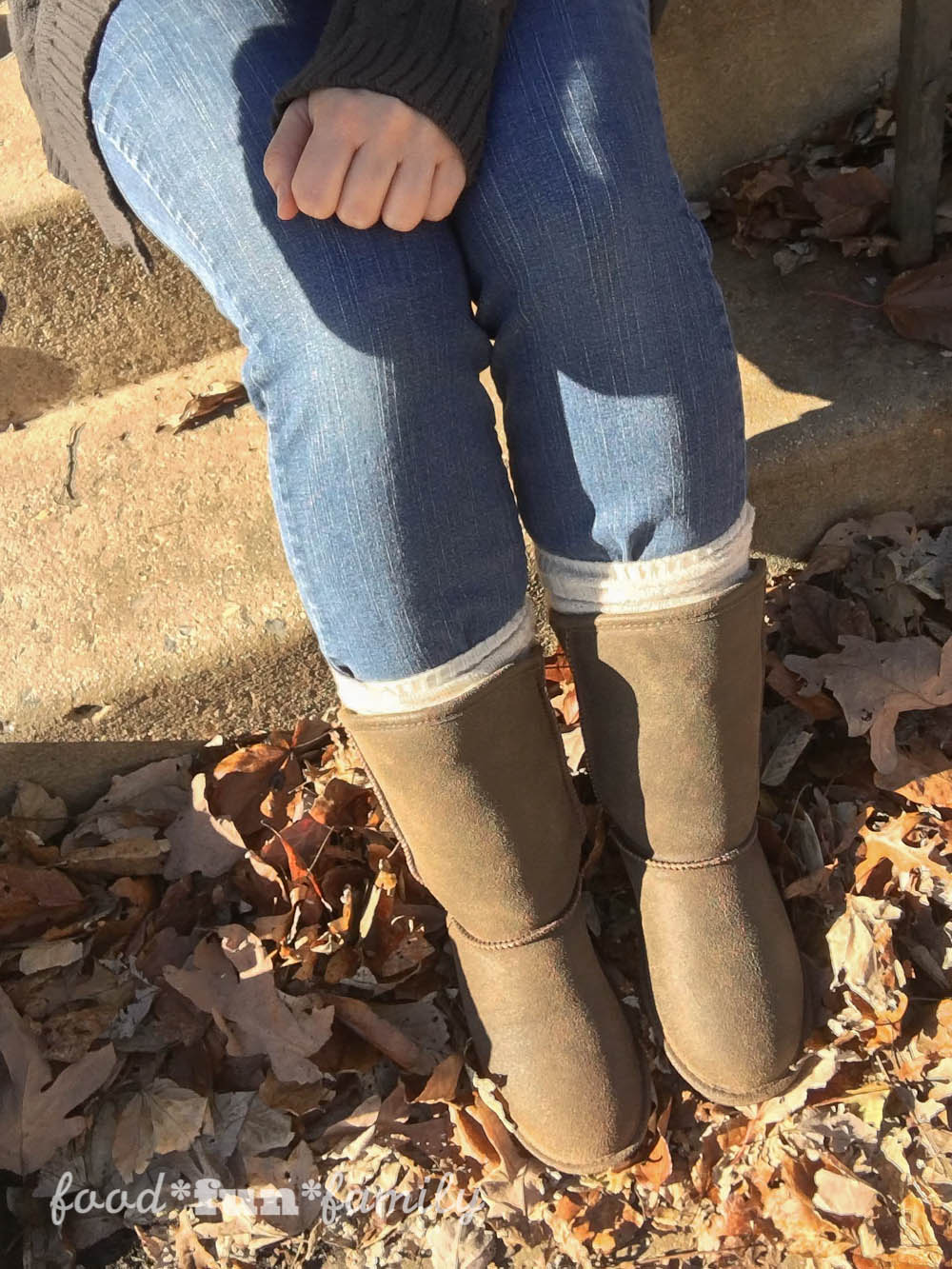Boot Season - My new Bearpaw Boshie boots from Famous Footwear - Food Fun Family