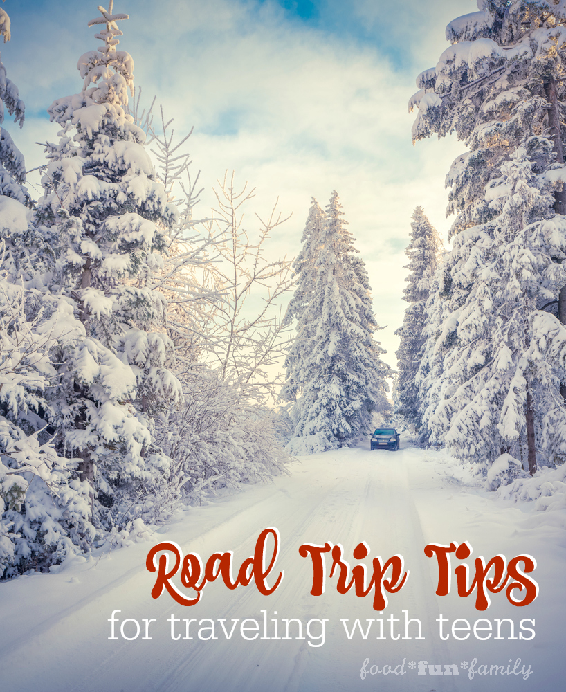 Road trip tips for traveling with teens at Food Fun Family