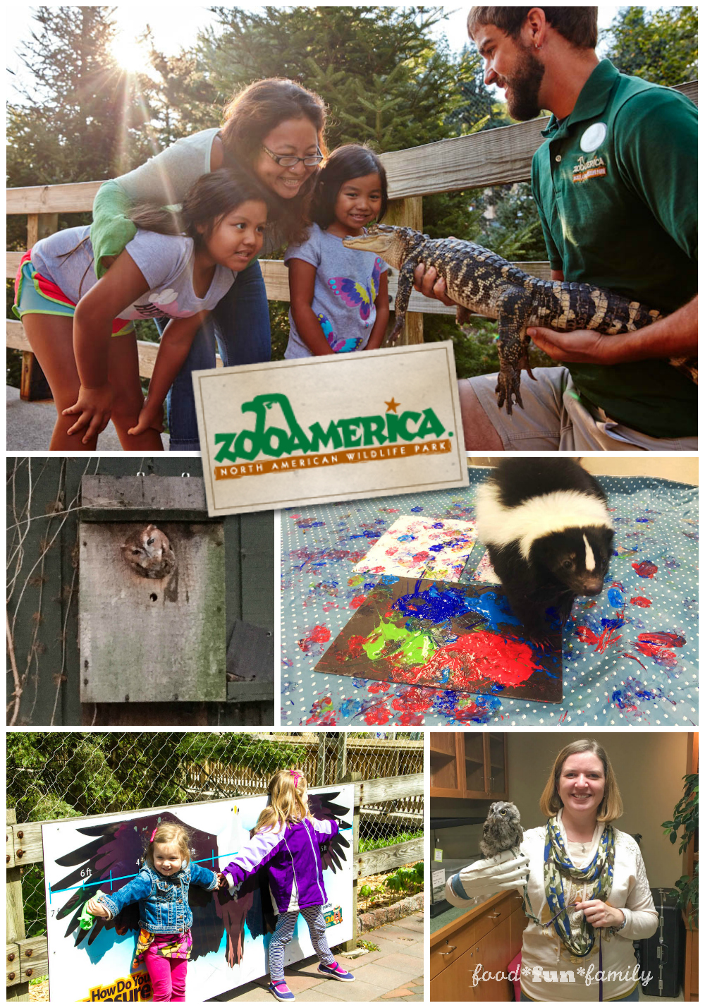 ZooAmerica at Hersheypark - a fun family place to visit from Food Fun Family