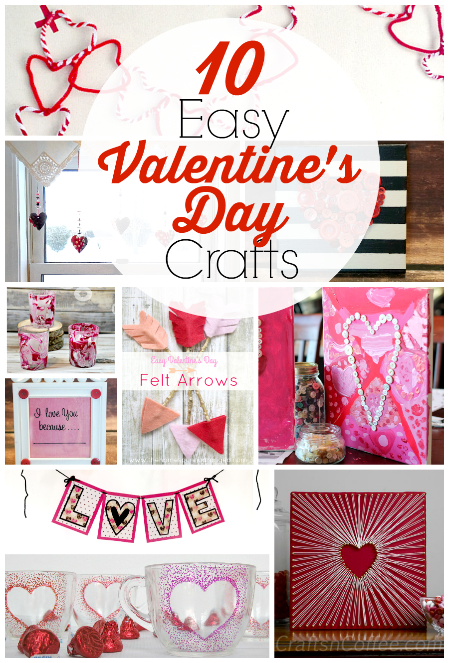10 Easy Valentine S Day Crafts For Adults