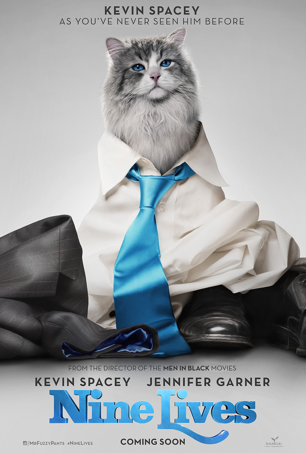 Nine Lives Movie Poster and Teaser Trailer - Plus the importance of Taking Time to Reconnect with Family and Friends