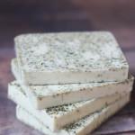Ginger white tea cocoa butter soap