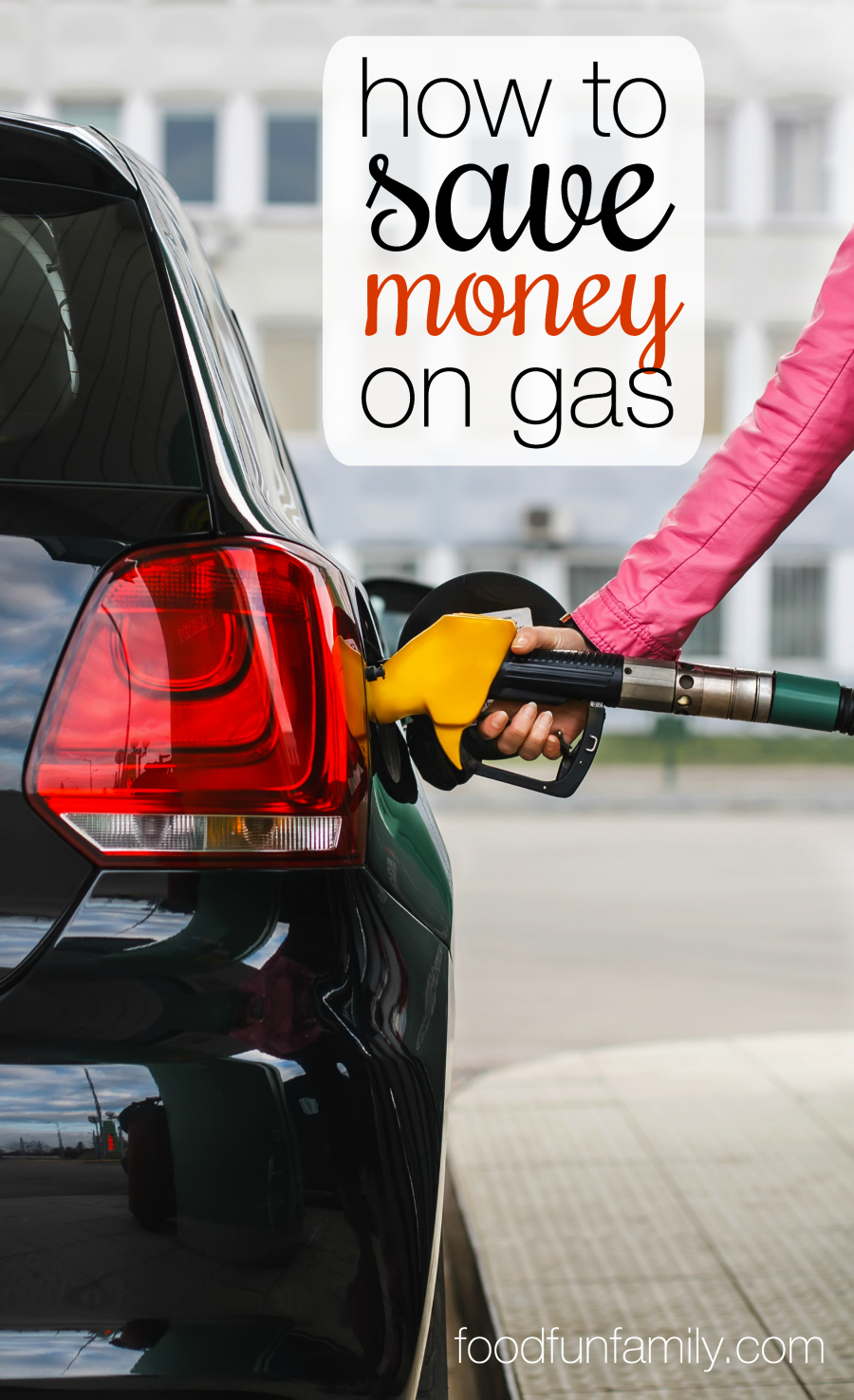 Tired of spending SO MUCH MONEY to fill up the gas tank? Check out these simple tips  to save money on gas and pay less at the pump (the last tip is my absolute favorite!).