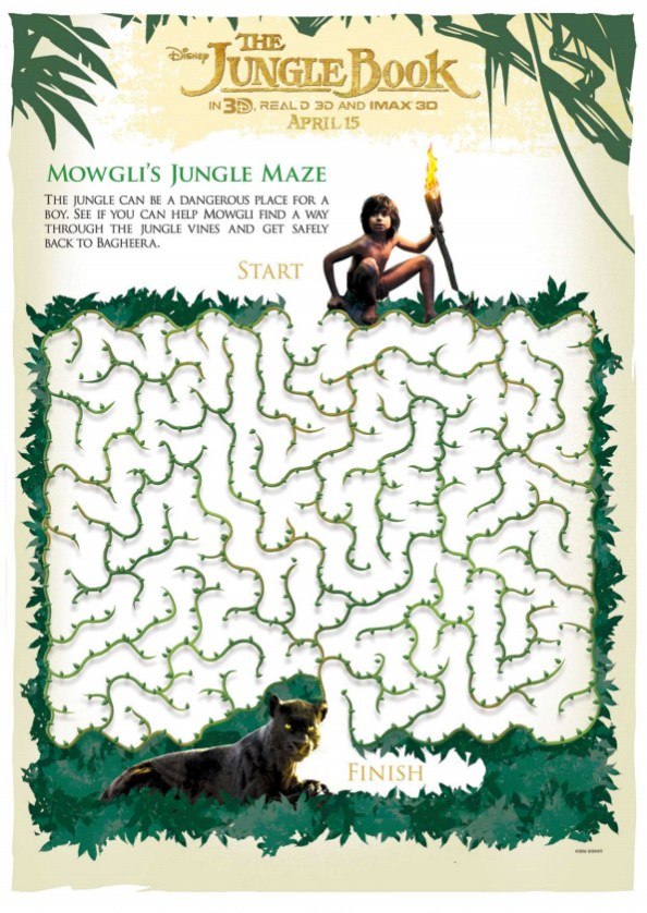 The Jungle Book maze