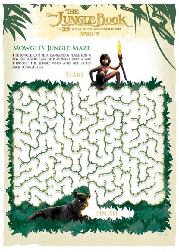 The Jungle Book maze