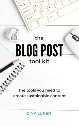 Blog Post Tool Kit by Gina Luke - Buy Now