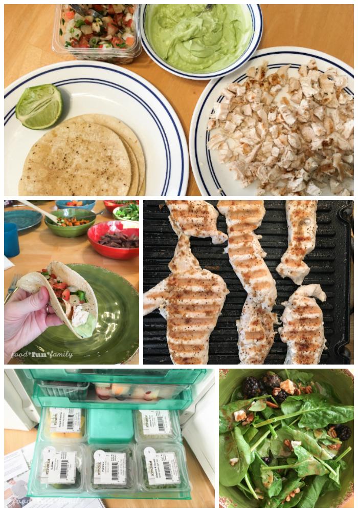 Terra's Kitchen Chicken tacos
