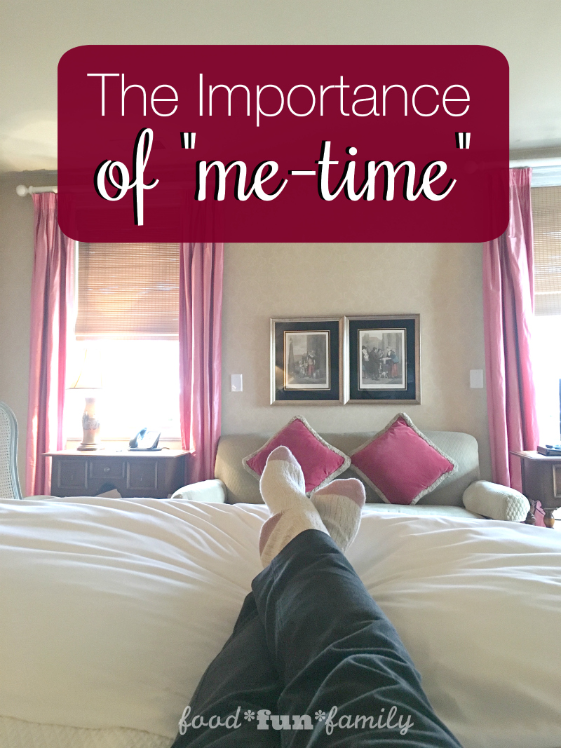 "Being a mom is tough work. And one thing is for certain when it comes to being a mom, and that is: ""me-time"" is hard to come by, but critically important."