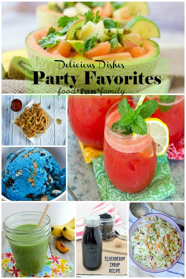 Delicious Dishes Recipe Party - favorite recipes from the party!
