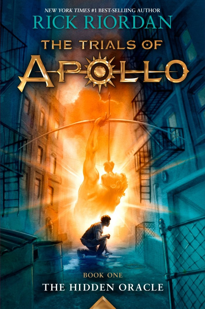 The Trails of Apollo - The Hidden Oracle by Rock Riordan