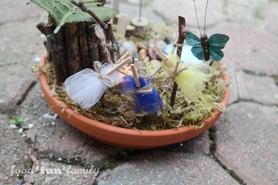 DIY miniature fairy garden