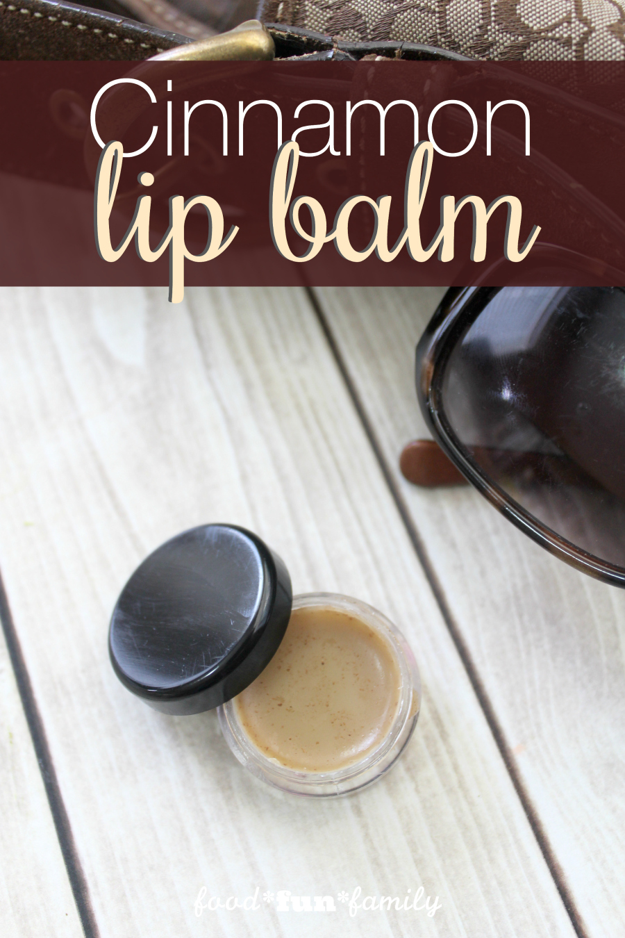 DIY cinnamon lip balm recipe
