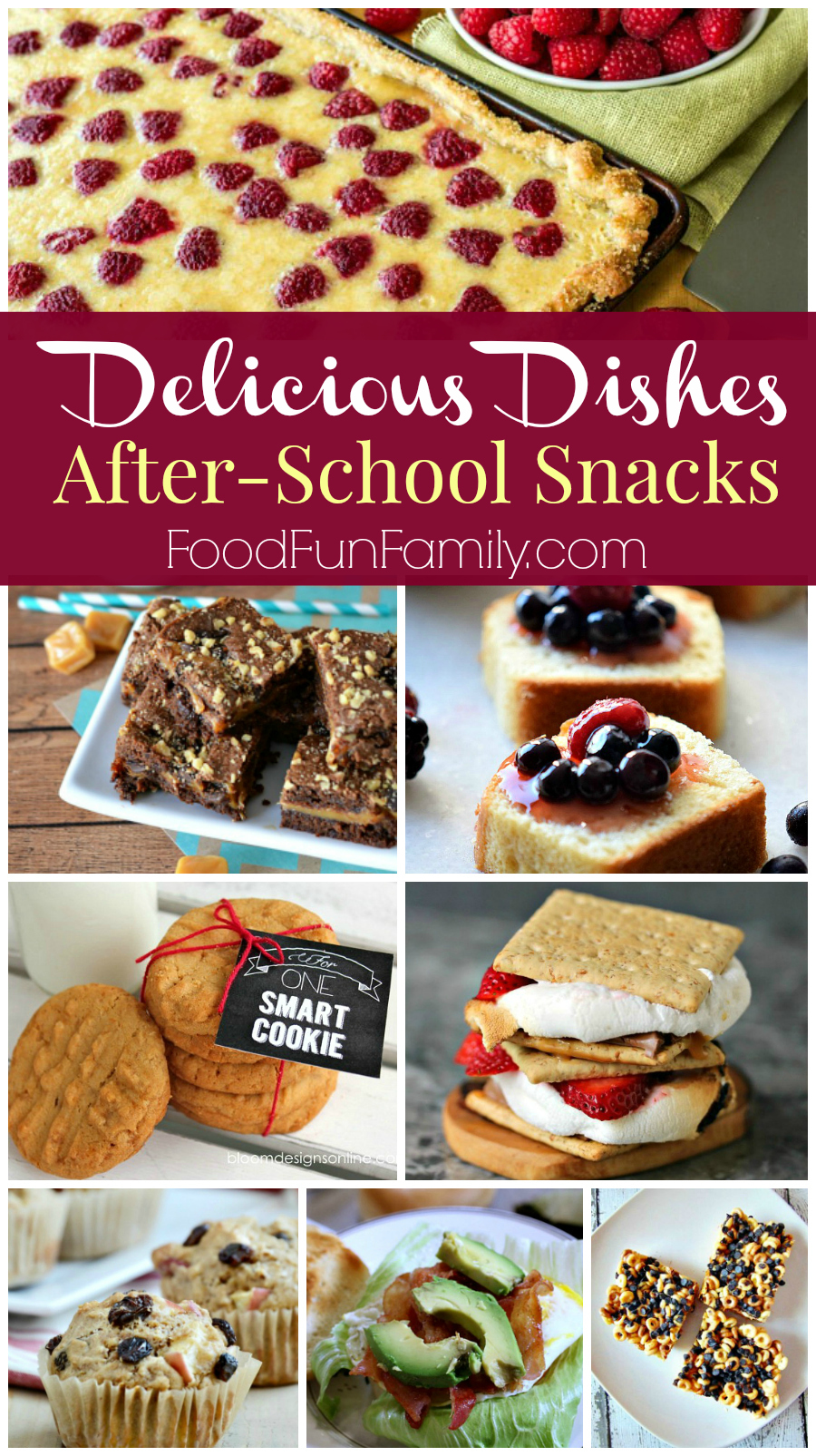 Delicious Dishes Recipe Party #33 - After school snacks