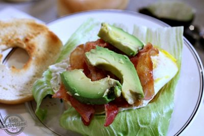 Delicious Ways to Top a Bagel from Kids Activities Blog