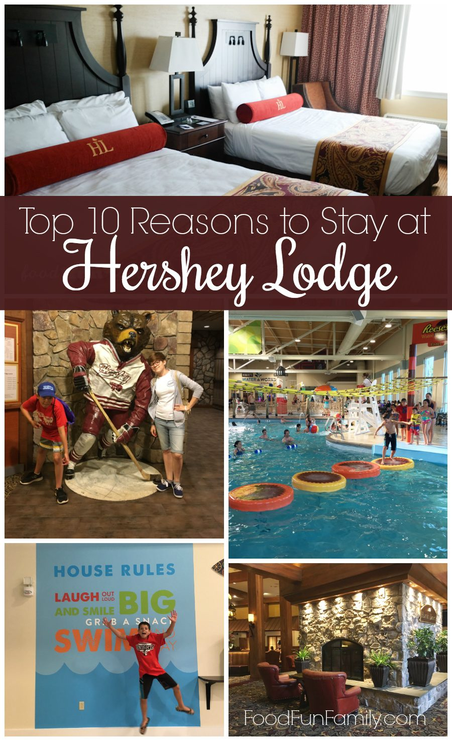 Top 10 reasons to stay at Hershey Lodge (whether you're visiting Hersheypark or not!)