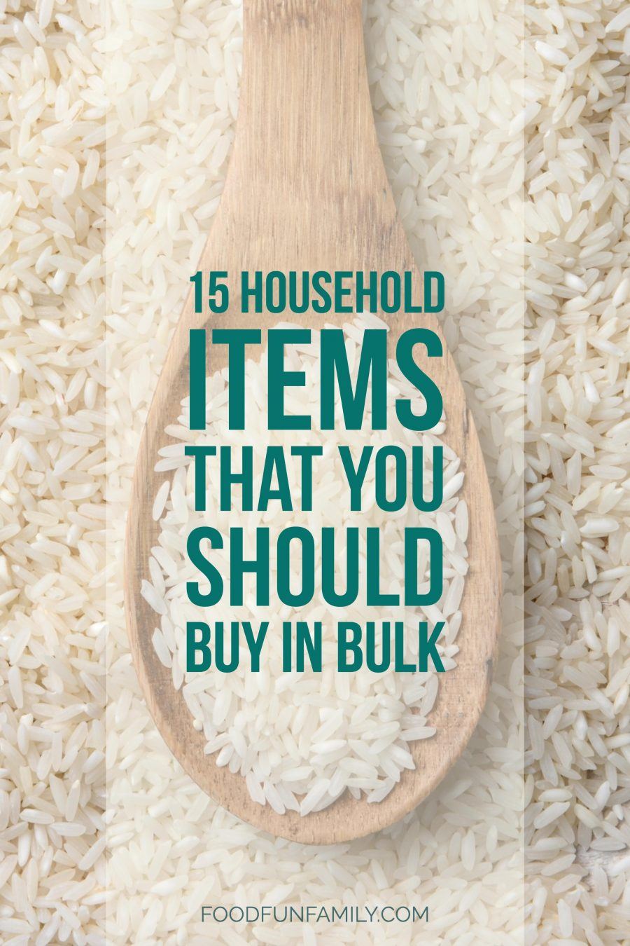 15 household items that you should buy in bulk, from pantry staples to household supplies - and tips on things that you should not stock up on!