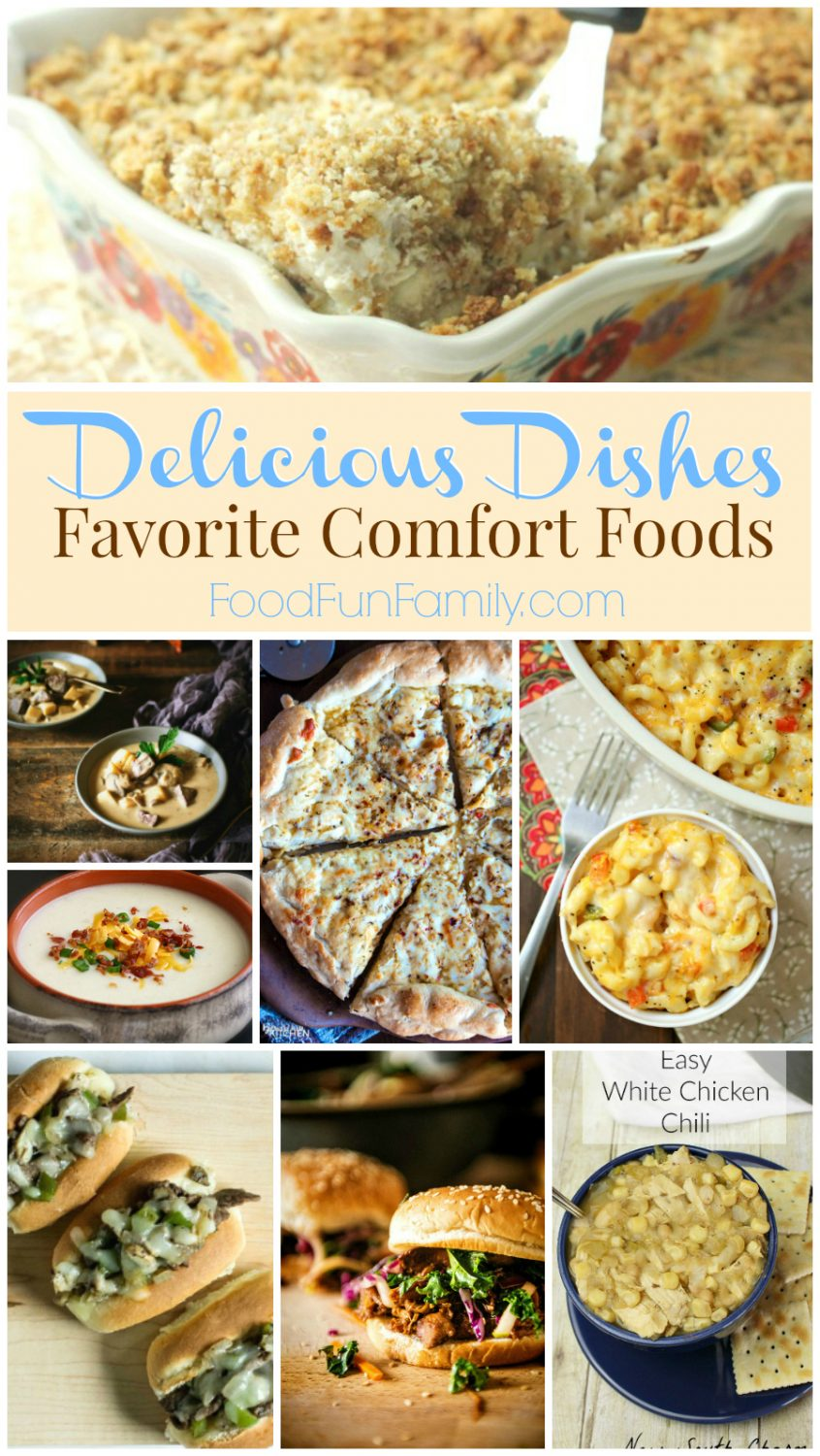 Delicious Dishes Recipe Party #38 - favorite fall comfort foods