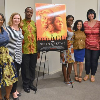 Queen of Katwe Exclusive interview with Phiona Mutesi and Robert Katende