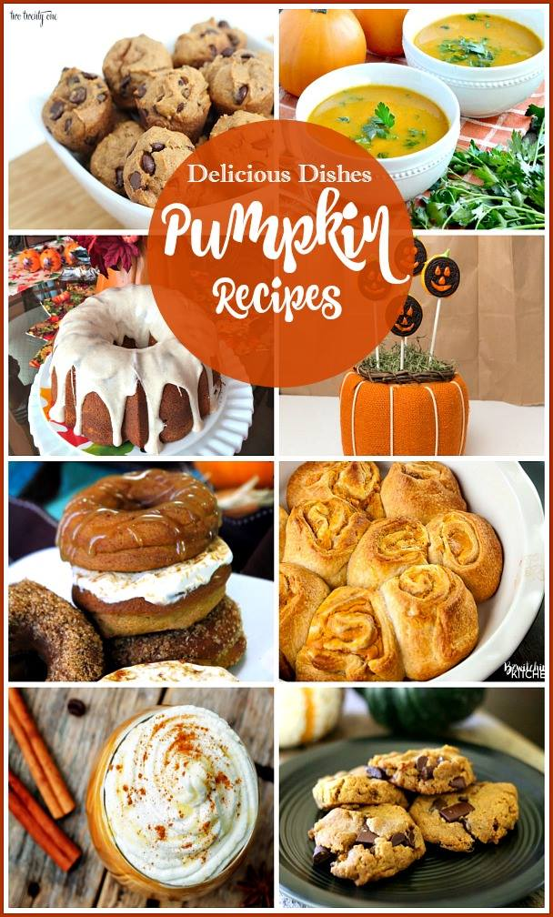 Delicious Dishes Recipe Party #42 - This collection of host-favorites is full of delicious pumpkin recipes that are perfect for the fall!