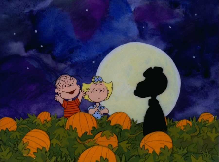"""IT'S THE GREAT PUMPKIN, CHARLIE BROWN"" (©1966 United Feature Syndicate Inc.)"