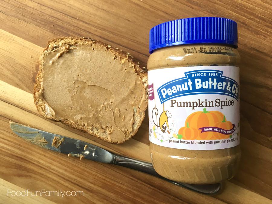 BabbleboxxFall pumpkin spice peanut butter from Peanut Butter & Co