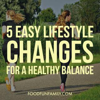 Five Easy Lifestyle Changes for a Healthy Balance #IAmBiotic