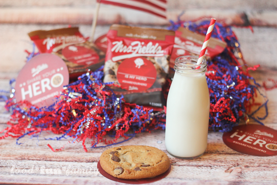 Mrs. Fields Cookies invites you to Share Your Hero #ShareYourHero