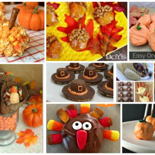 Fun last minute Thanksgiving treats that are kid-friendly! A host favorites collection of recipes from Delicious Dishes Recipes party