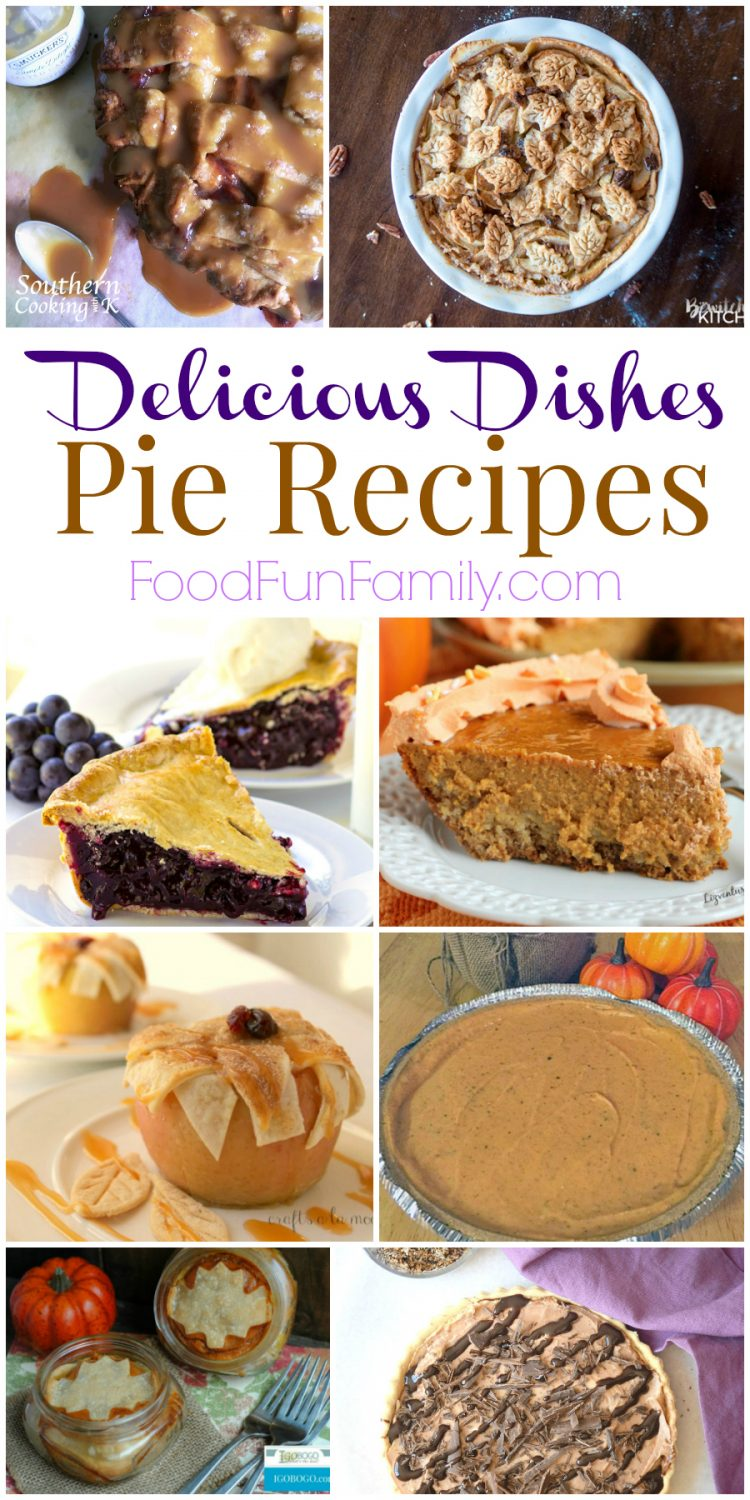 Favorite pie recipes - the perfect fall dessert! Delicious Dishes recipe party