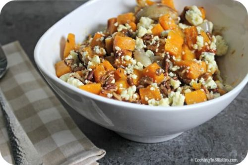 roasted-butternut-squash-with-pecans-shallots-and-blue-cheese-1