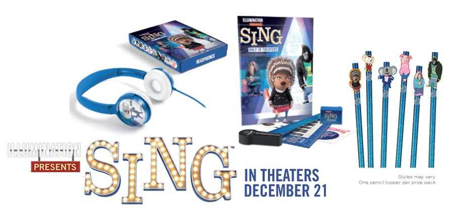 Sing Holiday prizing