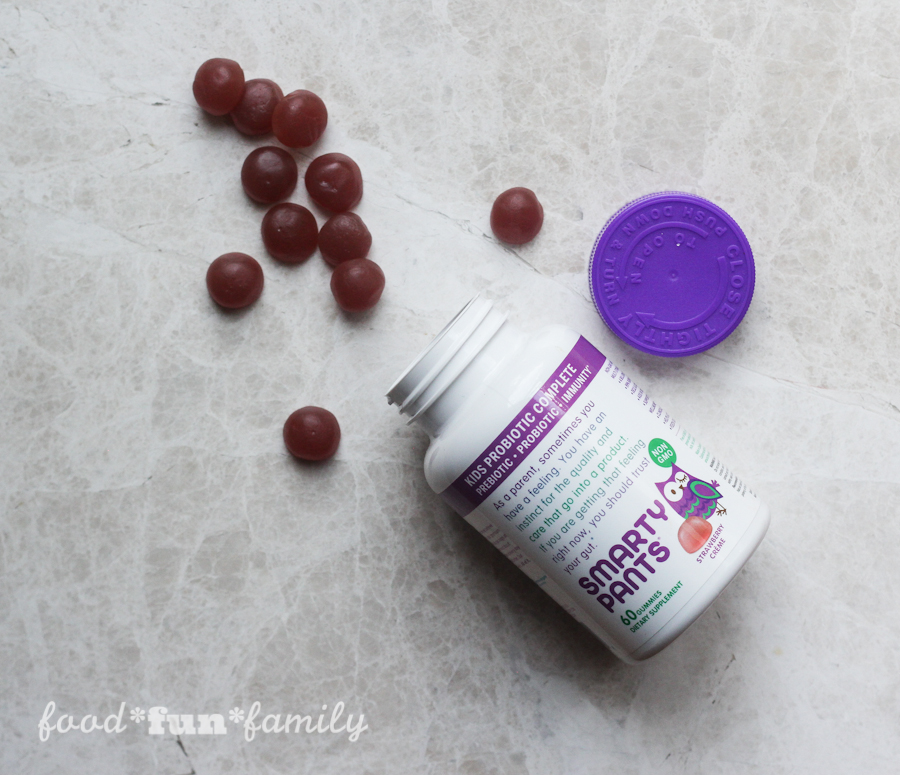 SmartyPants Kids Probiotic Complete gummy vitamin supplement: Prebiotic | Probiotic | Immunity