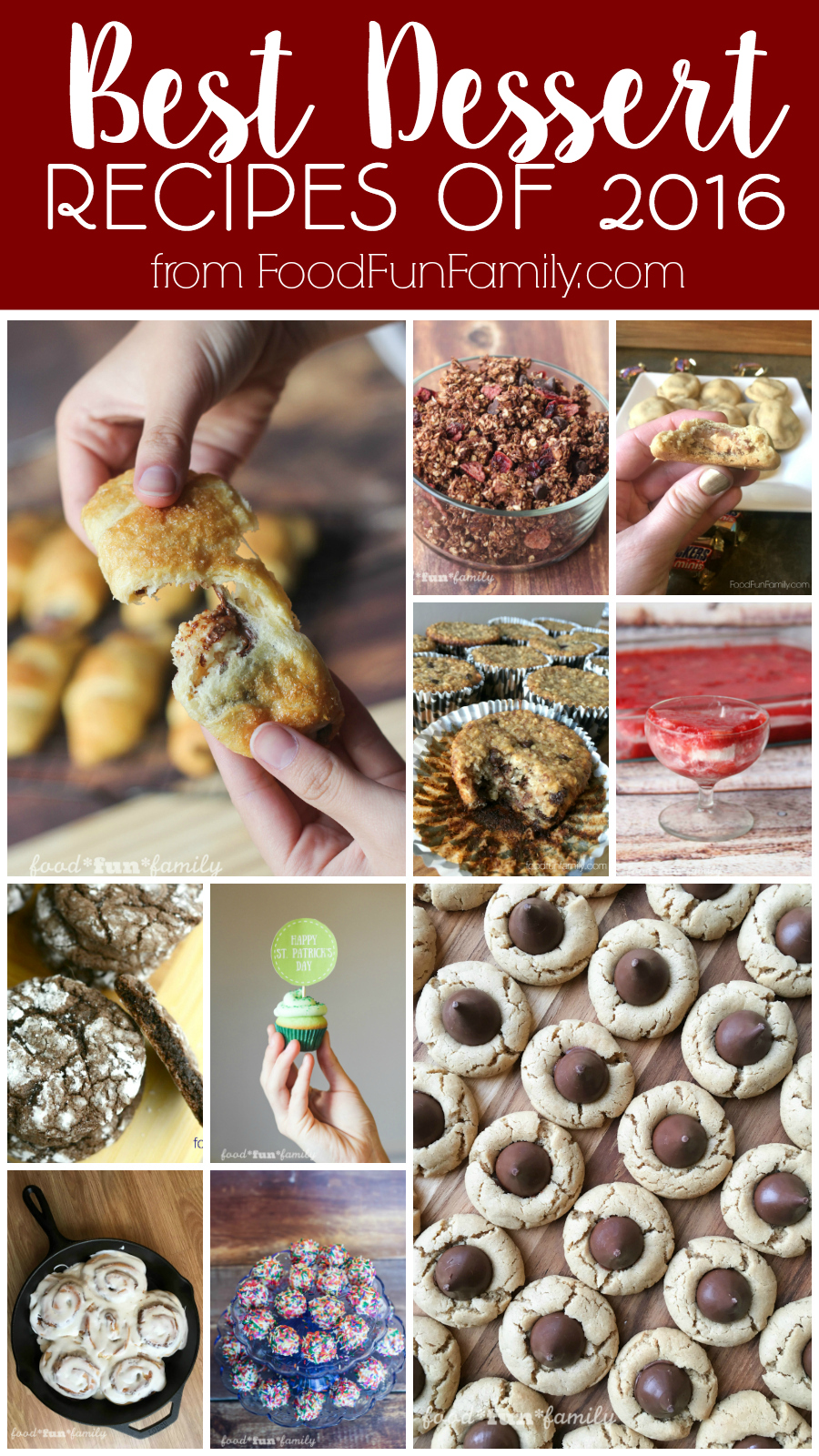 Best Dessert Recipes of 2016 from Food Fun Family