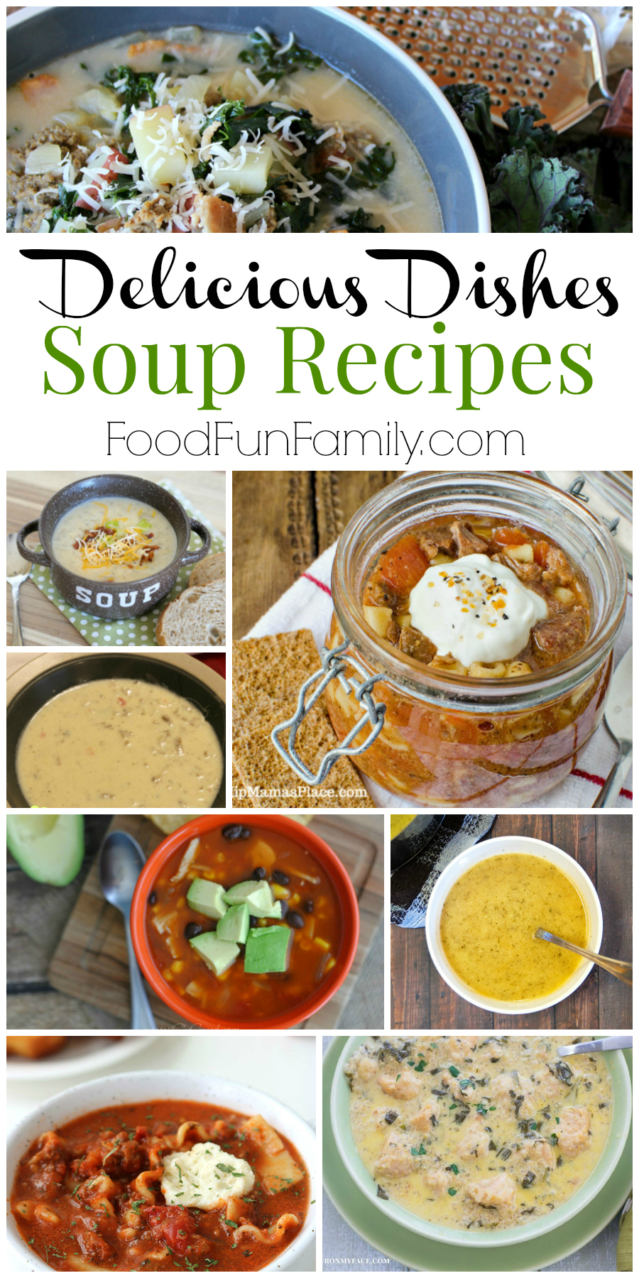 Favorite Soup Recipes  - Delicious Dishes Recipes Party at Food Fun Family