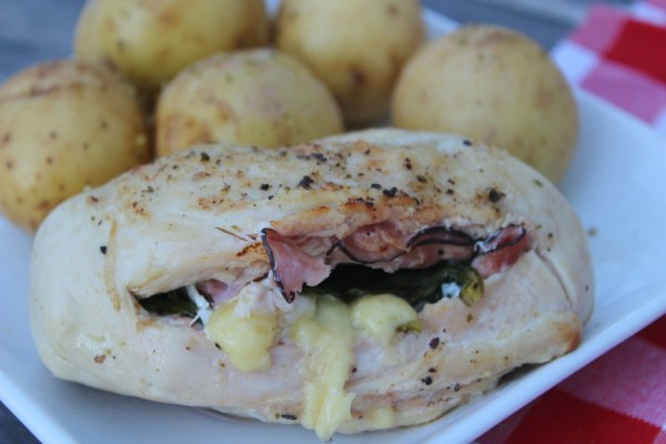 pressure cooker stuffed chicken breast final