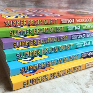 Fight the Summer Slide with Summer Brain Quest Workbooks
