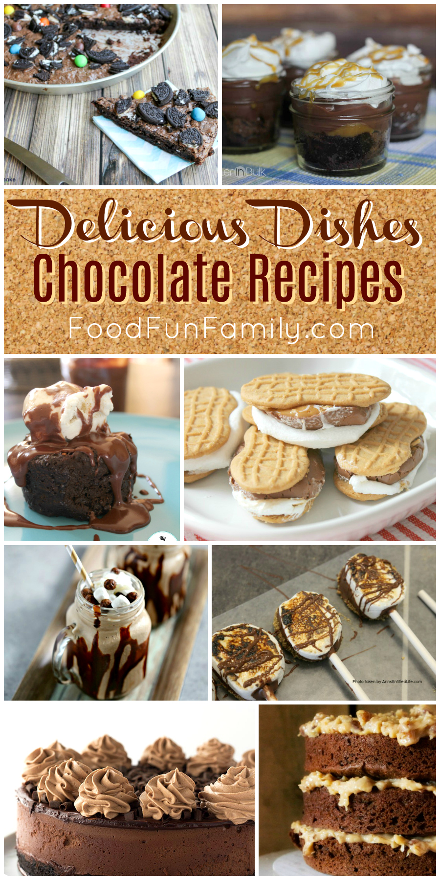 Crave-worthy chocolate recipes - a Delicious Dishes Recipe party collection of tasty chocolate treats