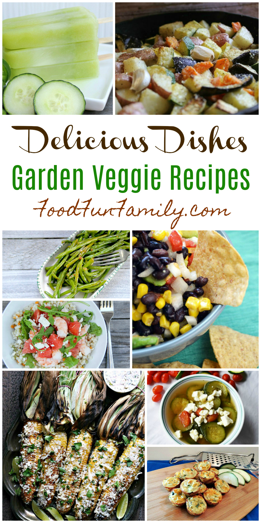 Garden Veggie Recipes - a Delicious Dishes recipe collection