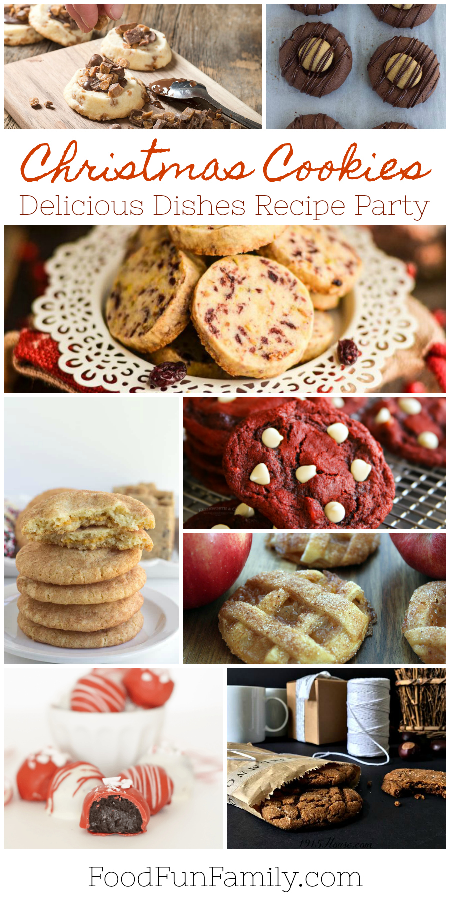 Delicious Christmas Cookies - a Delicious Dishes Recipe Party from Food Fun Family