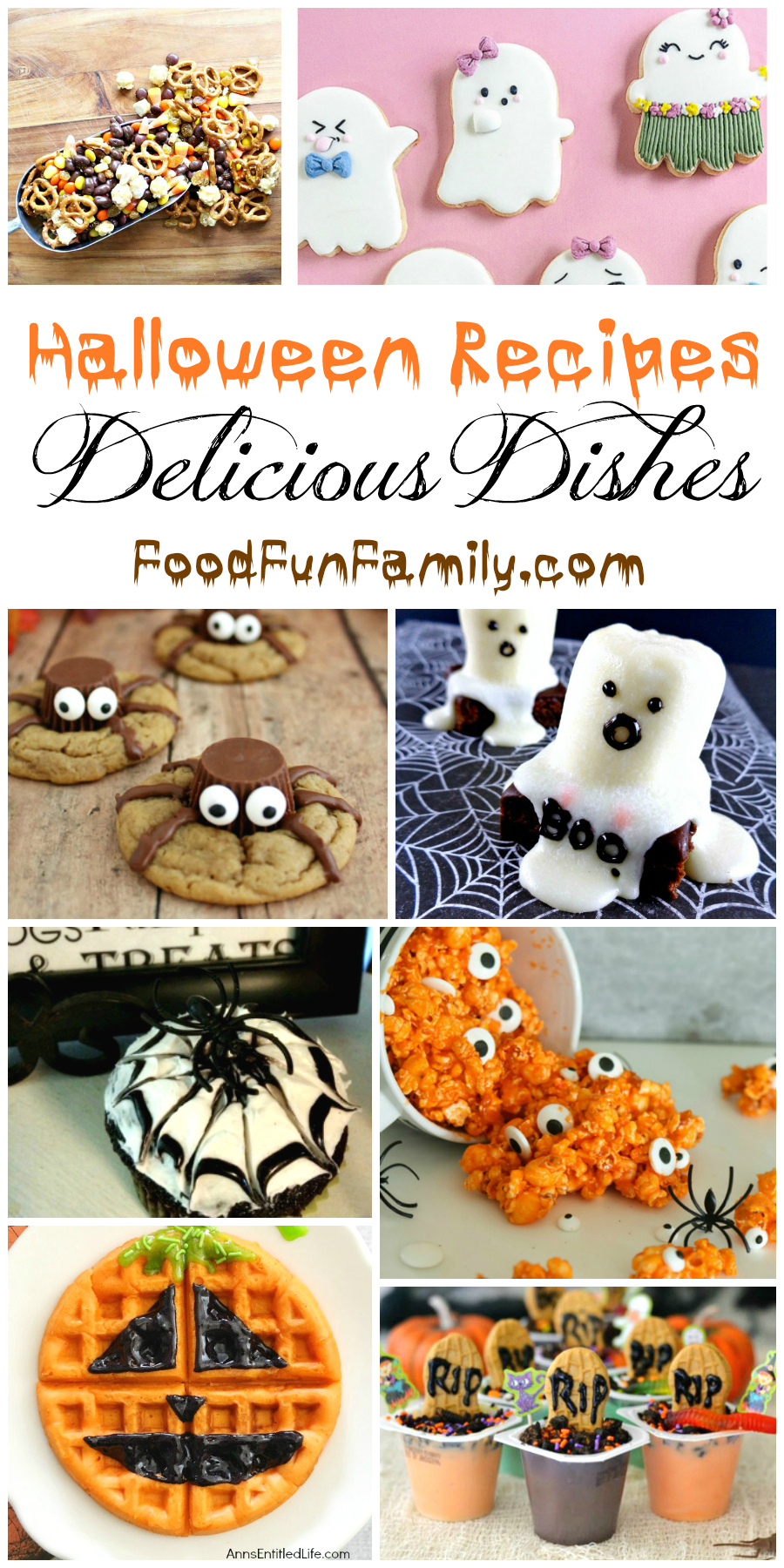 Halloween Recipes that will thrill the entire family! A Delicious Dishes Recipe Party