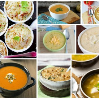 Warm and comforting soup recipes for the fall - a Delicious Dishes Recipe Party collection
